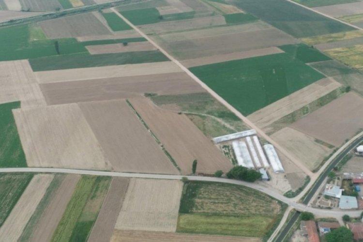 Bursa Mustafakemalpaşa'da arazi toplulaştırmaları sürüyor