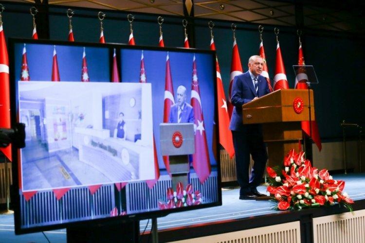 Cumhurbaşkanı Erdoğan'dan yurt eleştirilerine yanıt: Bunlar sözde öğrenci