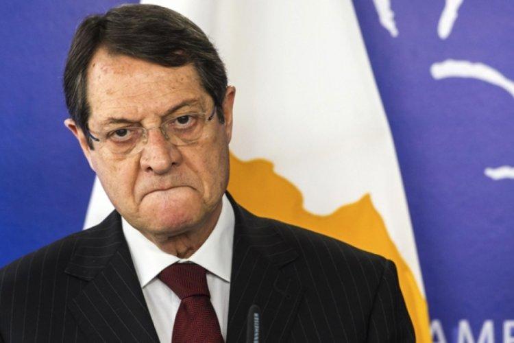 Anastasiadis, Kıbrıs'ta iki devletli çözüme 'hayır' dedi