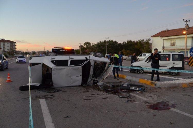 Aksaray'da ölümlü kaza
