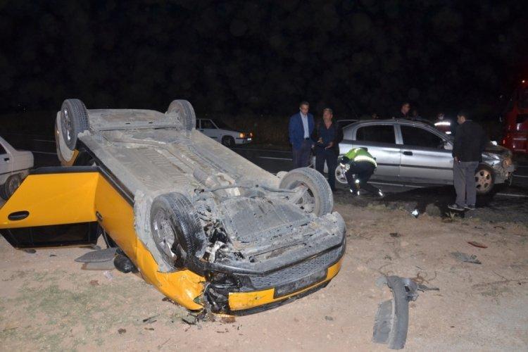 Kahramanmaraş'ta zincirleme kaza: 2'si ağır 6 yaralı