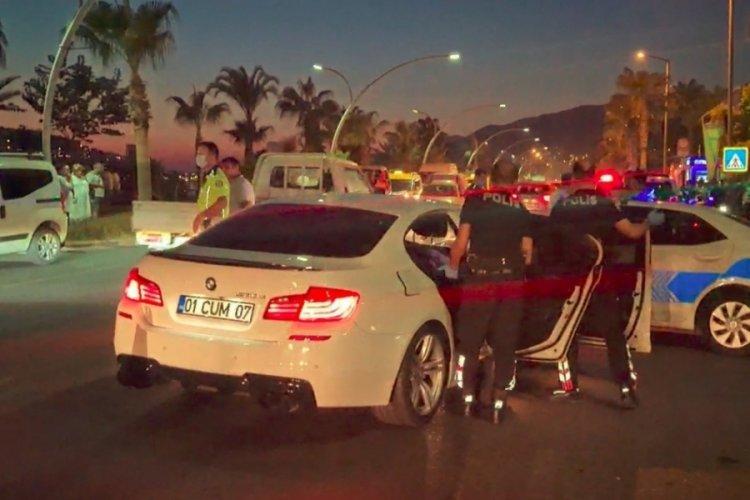 Trafikte dehşet! Yunus timi ve trafik polisine çarptı motosikletliye ateş etti