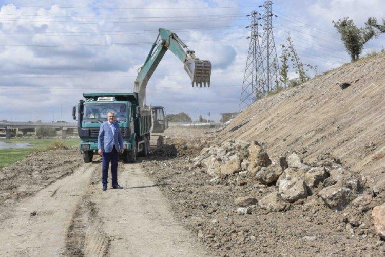 Bursa Karacabey'de Canbolu Deresi şehre yakışır hale geliyor