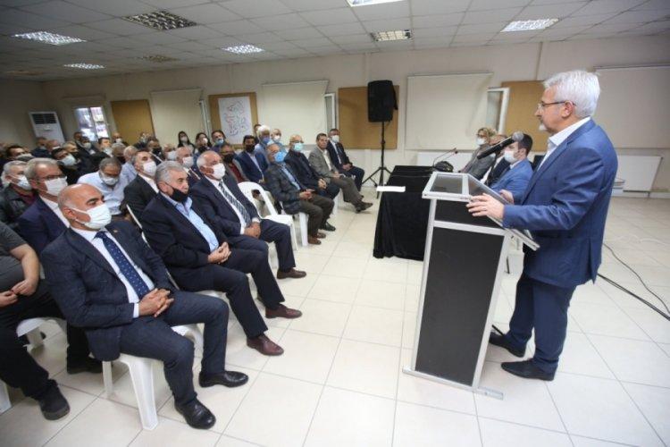 Bursa Anadolu Arastası'nda çalışmalar hız kazanacak