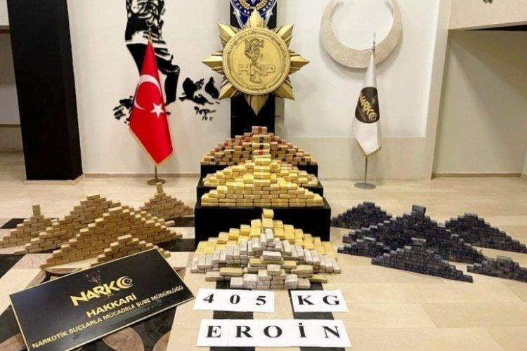 İçişleri Bakanı Soylu: 405 kilo 600 gram eroin yakalandı