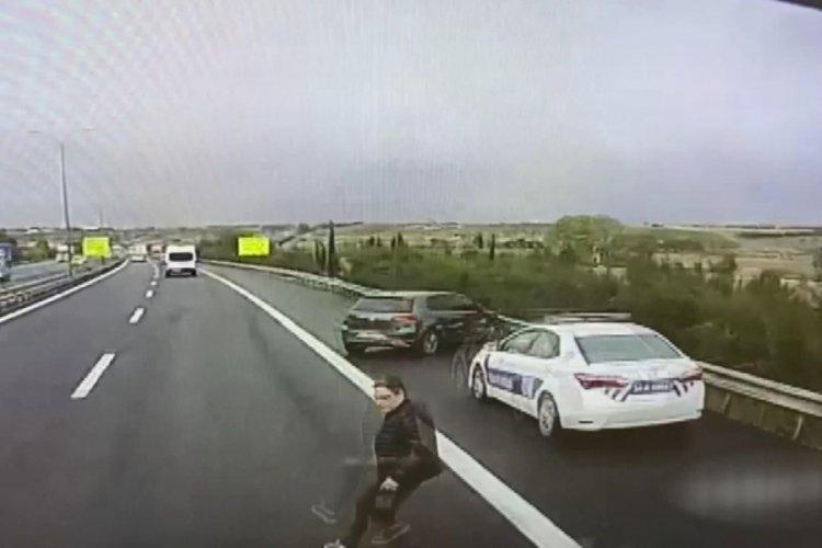 İstanbul Büyükçekmece'de doktorun öldüğü kaza kamerada