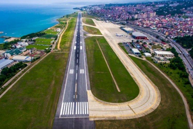 Trabzon Havalimanı 1 gün süreyle uçuşlara kapatıldı