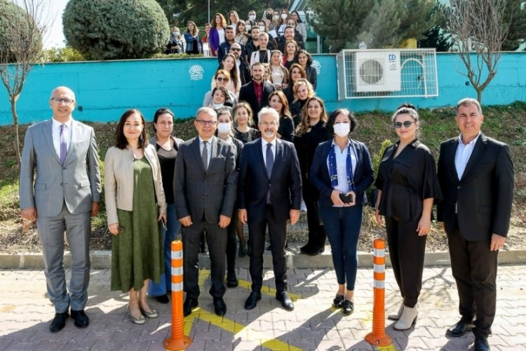 Bursa Nilüfer Belediye Başkanı Erdem iç denetçilerle buluştu