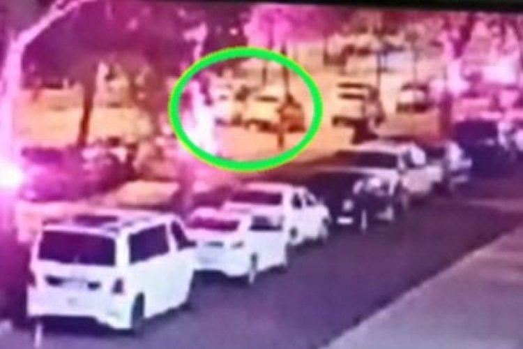 İzmir'de karantinayı ihlal edensürücü otomobille taksiciye çarptı