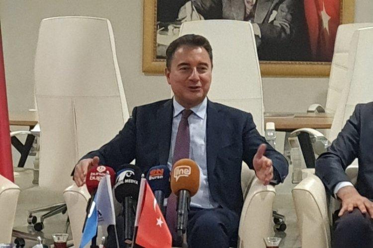 Demokrasi ve Atılım Partisi Genel Başkanı Ali Babacan Bursa'da konuştu!