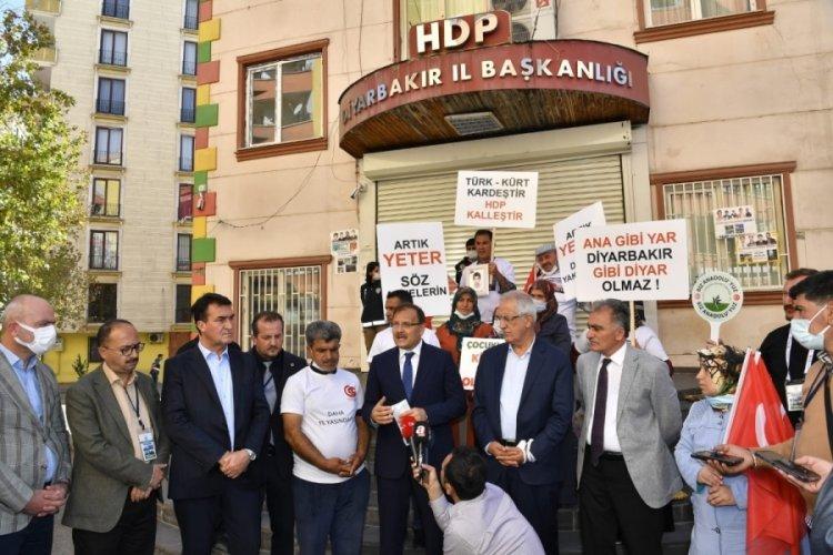 Bursa Milletvekili Hakan Çavuşoğlu Diyarbakır'da ziyaretlerde bulundu