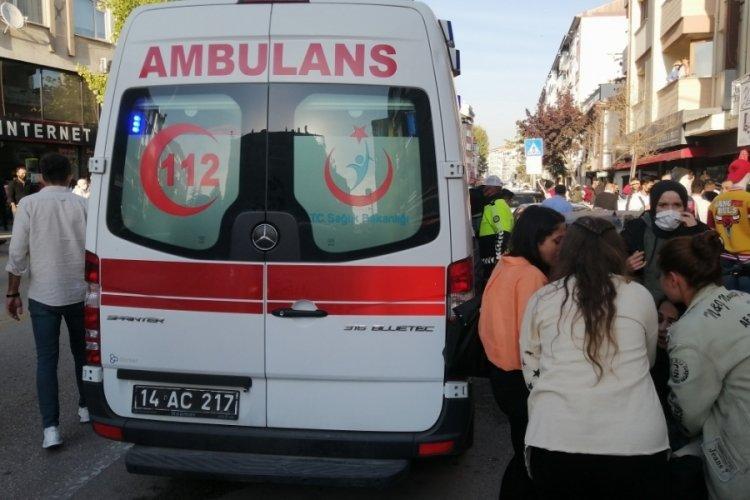 Bolu'da cadde ortasında silahlı kavga