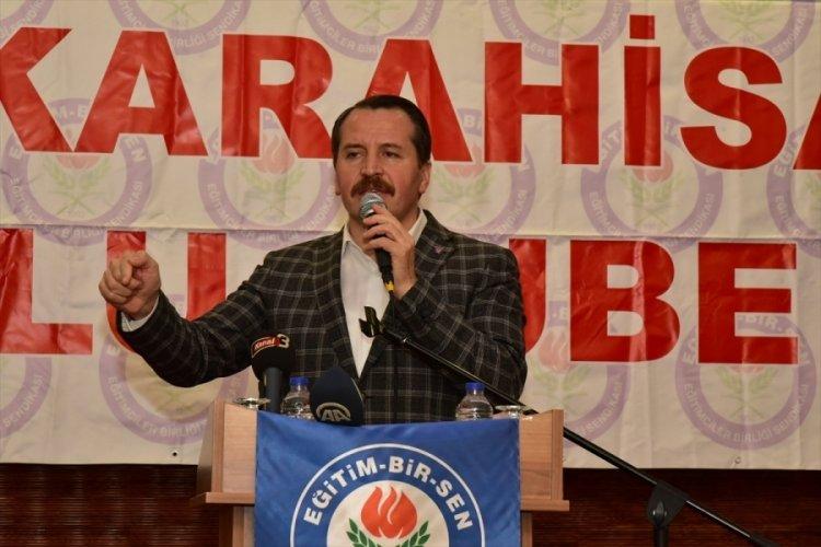 """Memur-Sen Genel Başkanı Yalçın'dan """"3600 ek gösterge"""" açıklaması"""