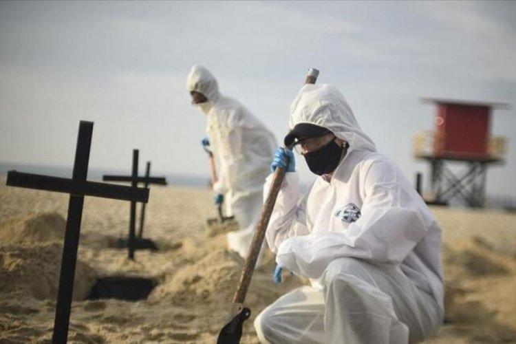 Brezilya'da koronavirüs kaynaklı ölümlerin sayısı 600 bini geçti