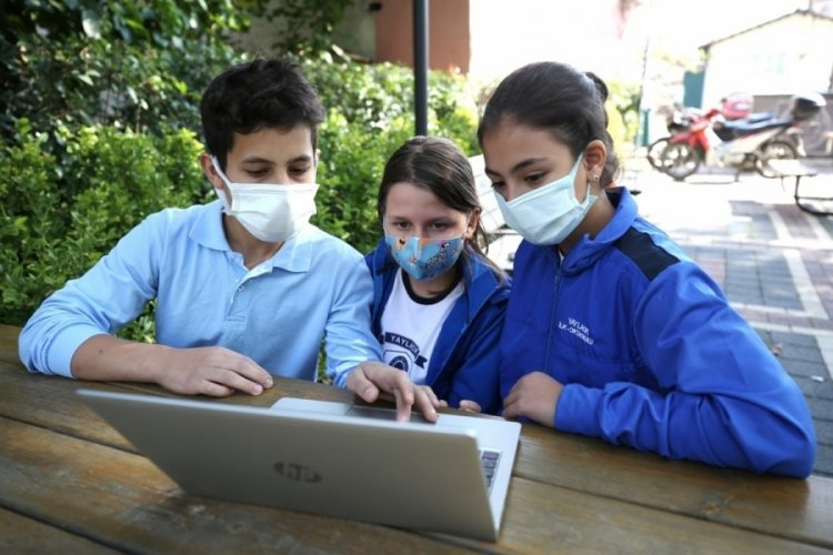 Bursa'da kırsaldaki çocukları dünya ile buluşturan adım