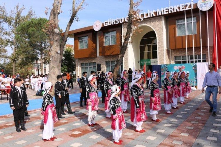 Bursa Gürsu'da sporun coşkusu yaşandı