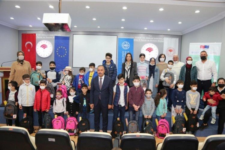 Bursa'da 50 çocuğa eğitim desteği sağlandı