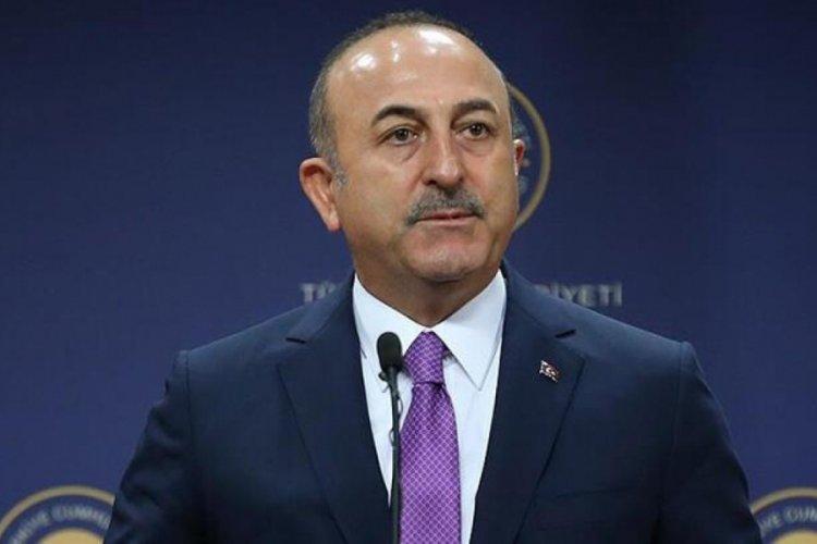 Bakan Çavuşoğlu'dan Biden'ın skandal mektubuna yanıt