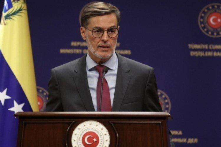 Venezuela Dışişleri Bakanı Türkiye'de