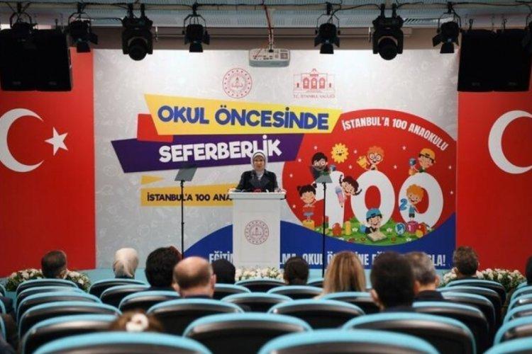 Emine Erdoğan'dan açıklama: Eğitime yapılan her yatırım bir ülkenin kendine yaptığı en büyük iyiliktir