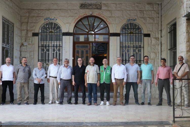 Bursa'da savaş mağduru öğrencilere Osmangazi desteği