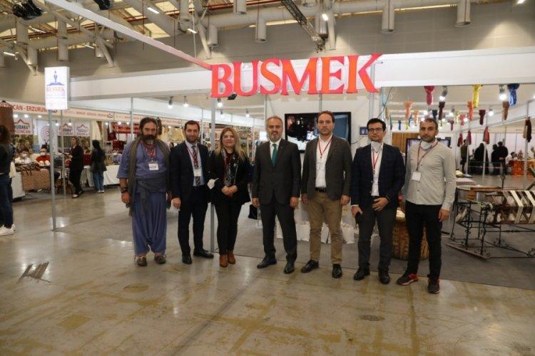 Craft İstanbul Fuarı'nda BUSMEK yoğun ilgiyle karşılandı