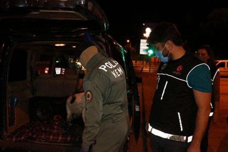 Denizli'de 'Narko Alan' uygulamasında çok sayıda kişi gözaltına alındı