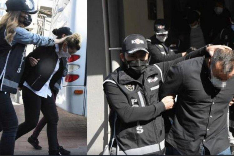 Camgöz çetesine operasyonunda 24 tutuklama kararı