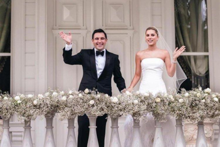 Hacı Sabancı ve Nazlı Kayı çifti evlendi