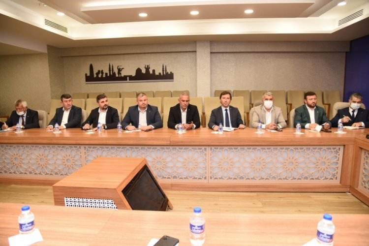 AK Parti Bursa İl Başkanı Gürkan: Gücümüzü Bursa'nın güveninden alıyoruz