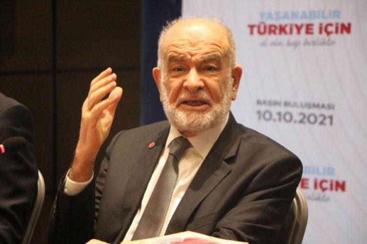 Saadet Partisi Genel Başkanı Karamollaoğlu: Gündemde bir ittifak konusu yok