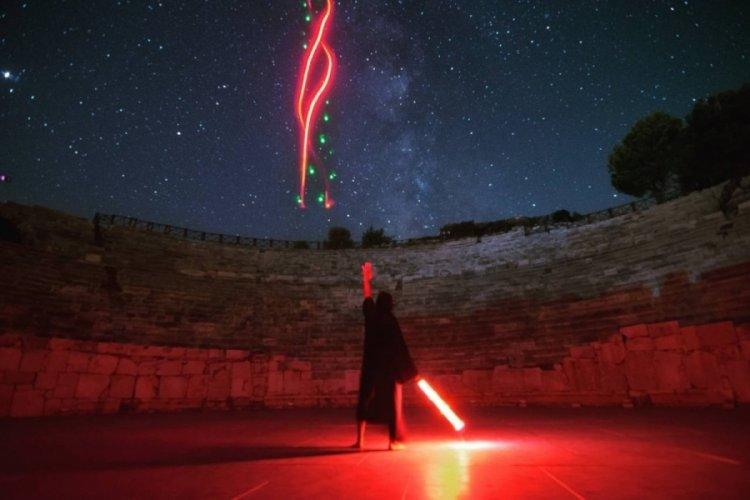 Antalya'da Patara Antik Kenti'nde 'Yıldız Savaşları' rüzgarı