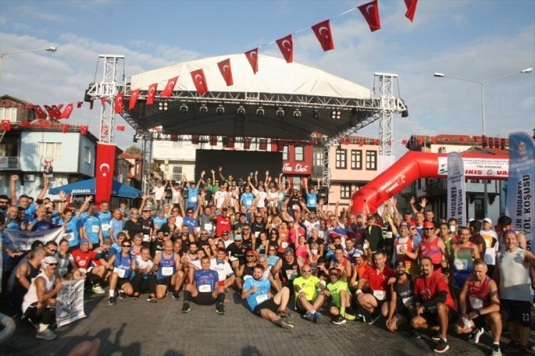 Mudanya Mütarekesi'nin 99. yıl dönümünde Bursa'da koşu düzenlendi