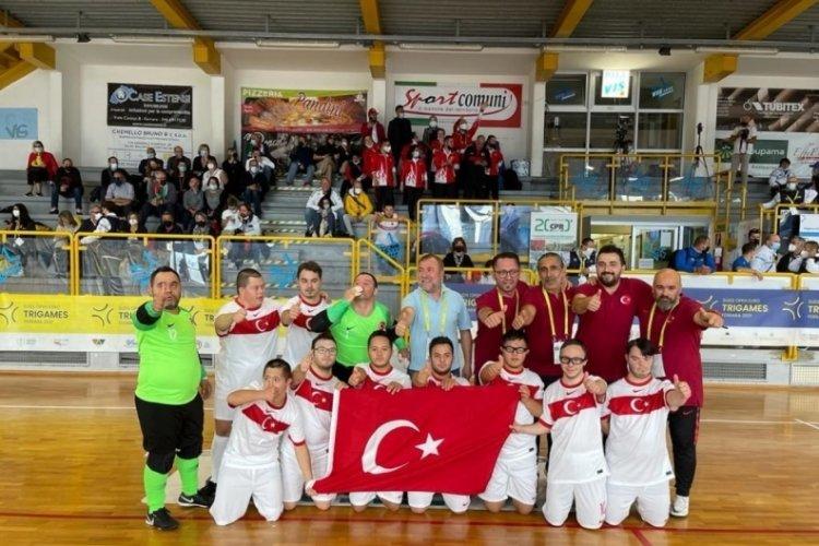 Down Sendromlular Futsal Milli Takımı, Avrupa şampiyonu oldu