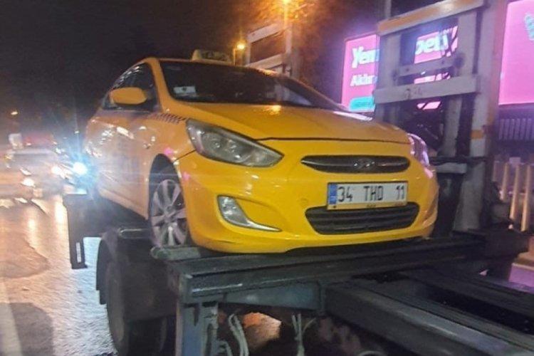 İstanbul, yolcu seçtikleri öğrenilen 4 ticari taksi trafikten men edildi