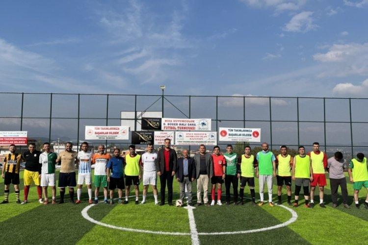 Bursa'da futbol turnuvasından elde edilecek gelir eğitime kullanılacak