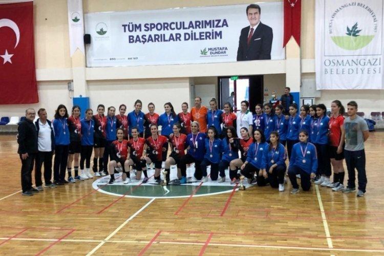 Bursa'da Osmangazi Belediyespor'un 2. lig sevinci