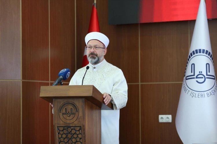 Diyanet İşleri Başkanı Erbaş: Halit Güler hocamızı kaybettik