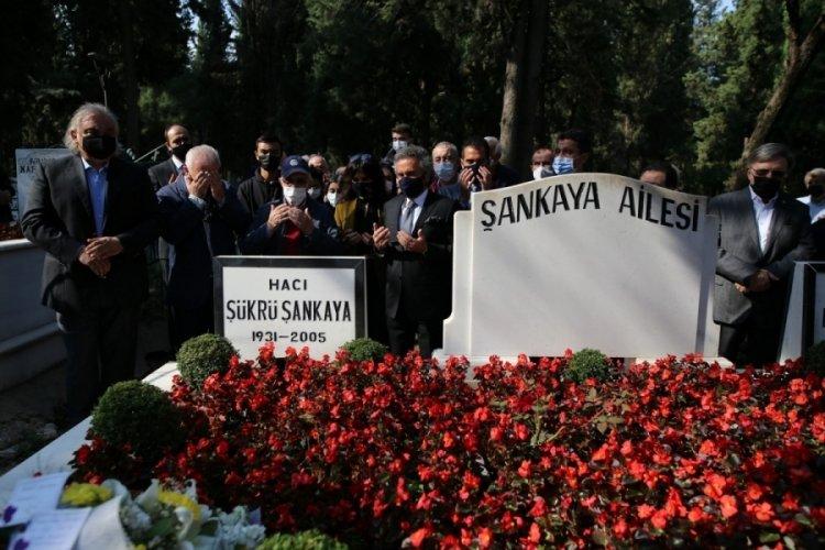 Şükrü Şankaya Bursa'da dualarla anıldı