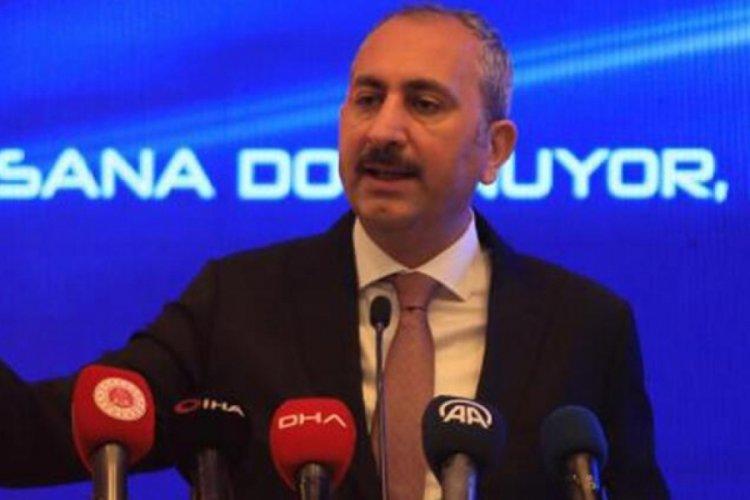 Adalet Bakanı Gül: Yanı başımızda terör devleti koridoruna asla izin vermeyeceğiz