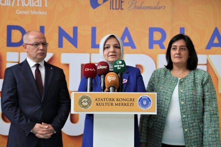"""Bursa'da """"Kadın Emeği Türkiye'nin İstikbali Buluşmaları"""" etkinliği gerçekleştirildi"""