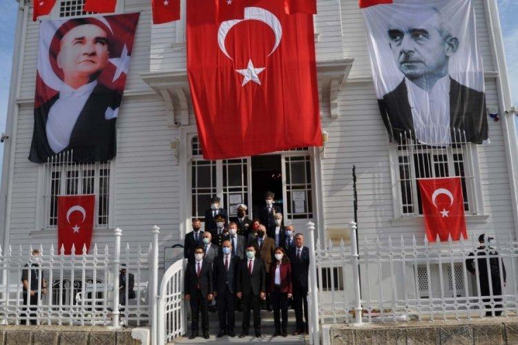 Bursa'da Mudanya Mütarekesi'nin 99'uncu yılı kapsamında etkinlik düzenlendi