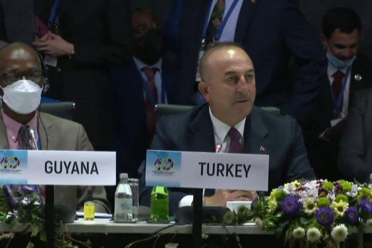 Dışişleri Bakanı Çavuşoğlu, kapsayıcı ve temsili yüksek bir BM sistemi çağrısında bulundu