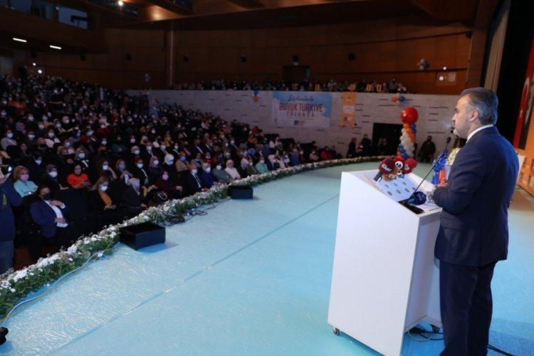 Bursa Büyükşehir üreten kadınların yanında