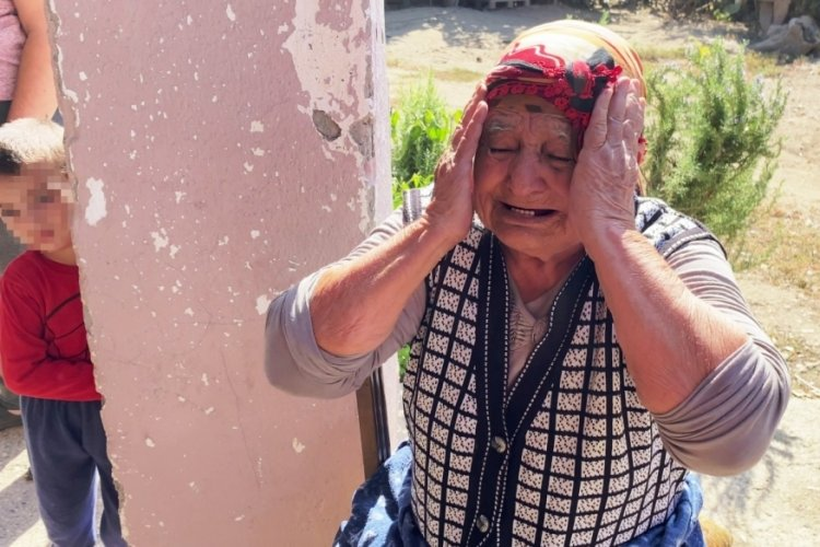 Antalya'da torunu çakmakla oynarken evde yangın çıktı, babaanne ağladı