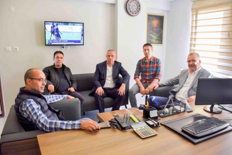 Bursa Karacabey Belediye Başkanı Özkan, esnaflarla buluştu