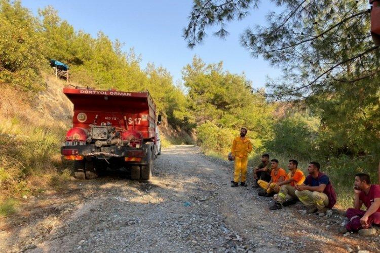 Hatay Dörtyol'da çıkan orman yangını kontrol altına alındı