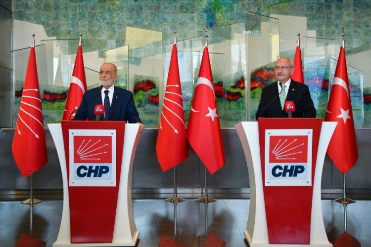 Saadet Partisi'nden CHP ziyareti! 'Cumhurbaşkanlığı adaylığı tartışmaları yapay'