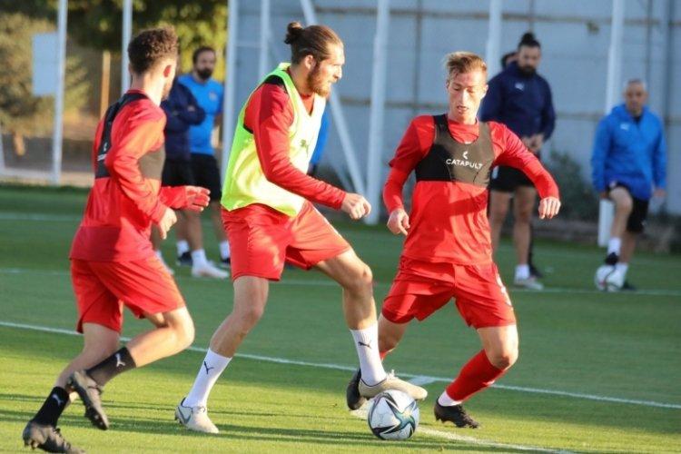 Sivasspor, Antalyaspor maçı hazırlıklarına devam etti