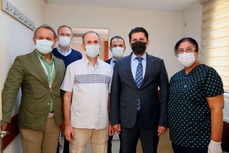 Yerli aşı Turkovac, İzmir'de gönüllülere uygulanmaya başlandı